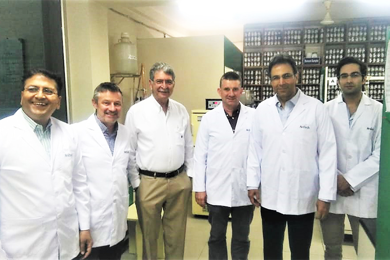 Upscience Labs Solutions, France team visits Avitech