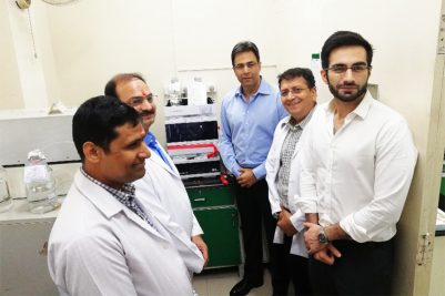 Avitech Commisions latest Agilent HPLC machine in its Analytical division laboratory