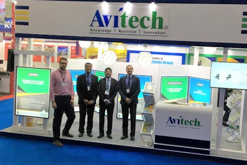 Avitech Nutrition participates in the VIV Asia 2019 held at Bangkok from 13th to 15th March 2019
